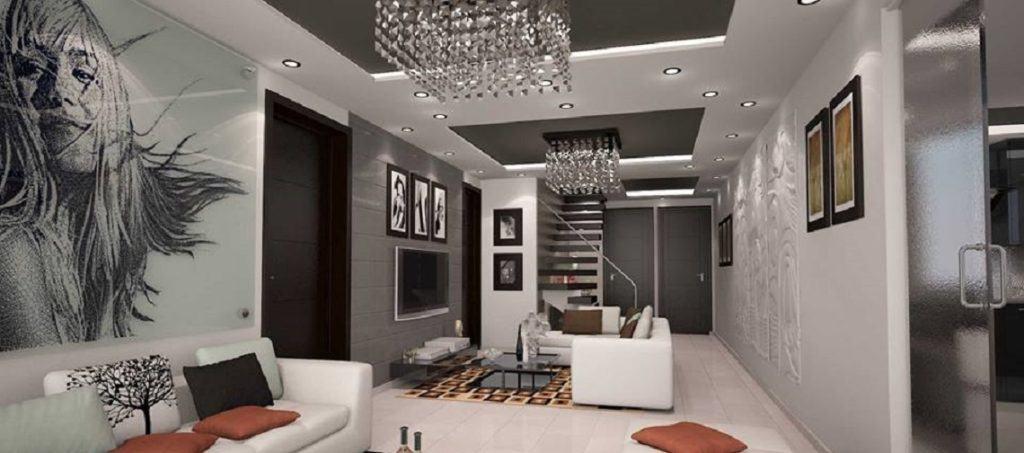 Diseño de Interiores y Arquitectura, Espacio a Nivel