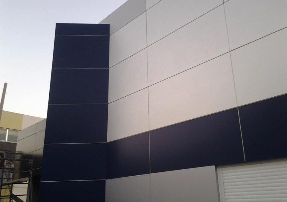 Fachadas ligeras en Aluminio Compuesto Alucobond