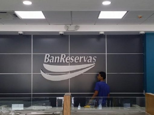 Revestimientos en ACM Banco Banreservas Bonao