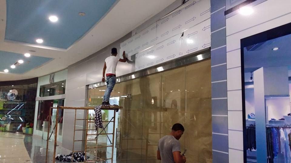 Fachada en Pawa Dominicana Blue Mall