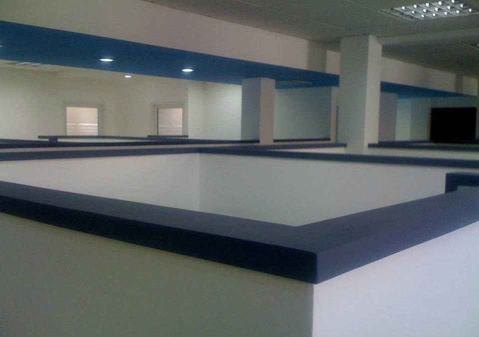 Espacios y cubículos para oficinas, Espacio a Nivel
